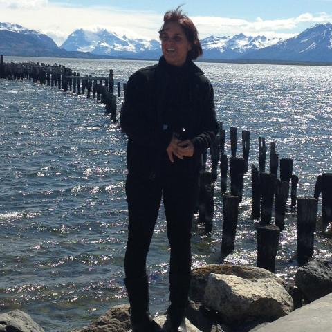 Waterfront view in Puerto Natales